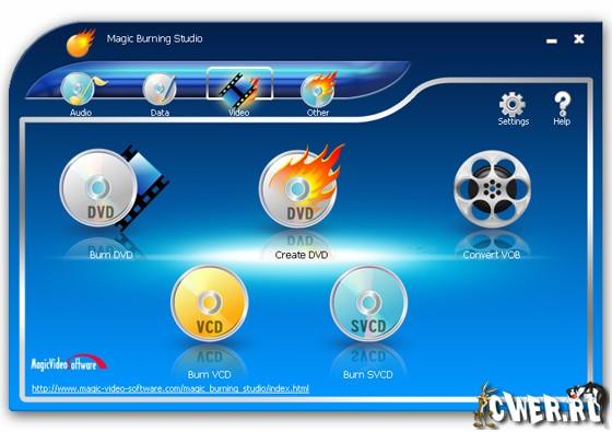 Программы для записи дисков сд двд
