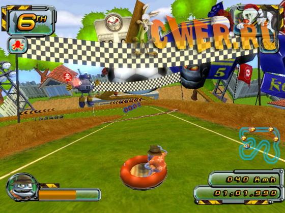 Скачать игру crazy frog racer 2