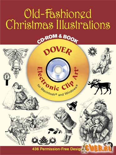 Dover™ Old-Fashioned Christmas Illustrations