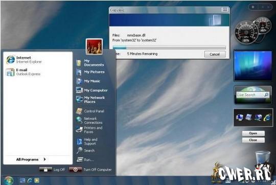 Скачать программа для изменения интерфейса windows xp
