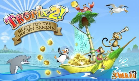 скриншот игры Tropix 2: Quest for the Golden Banana