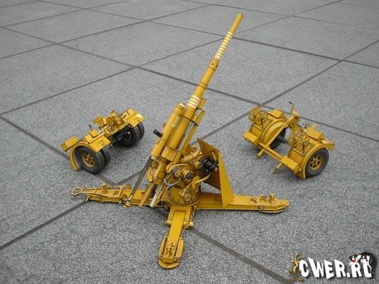 Пушки из бумаги своими руками