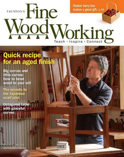 Fine Woodworking №278 November-December ноябрь-декабрь 2019