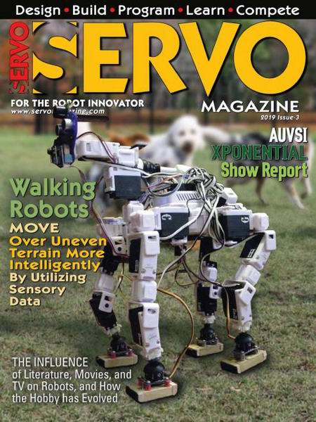 Servo Magazine №3 May-June 2019 май-июнь 2019