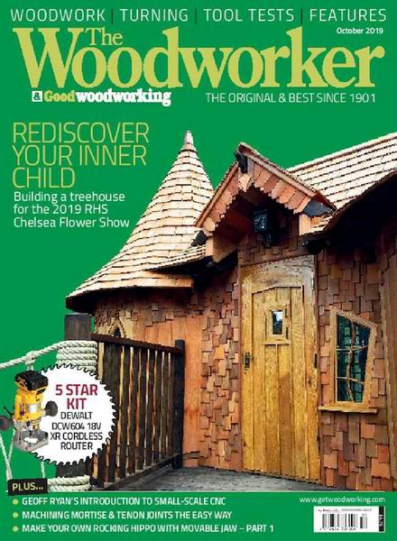 The Woodworker & Good Woodworking №10 October октябрь 2019