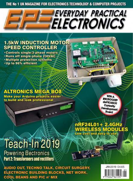 Everyday Practical Electronics №1 January январь 2018