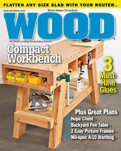 Wood Magazine №252 March 2018