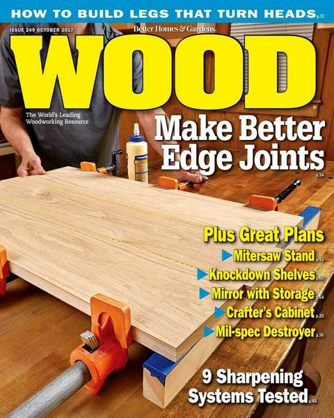 Wood Magazine №249 October октябрь 2017