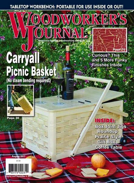 Woodworker's Journal №4 August август 2017