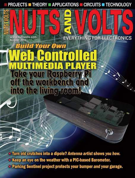 Nuts And Volts №8 аВгуст August 2015