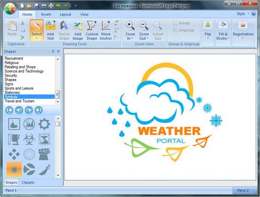 Программу для логотипа на фото