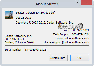Golden Software Strater 3.4.807