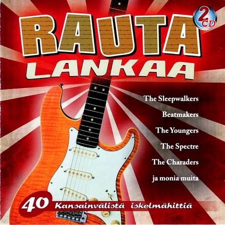 Various Artists. Rautalankaa - 40 Kansainvalista Iskelmahitti (2011)
