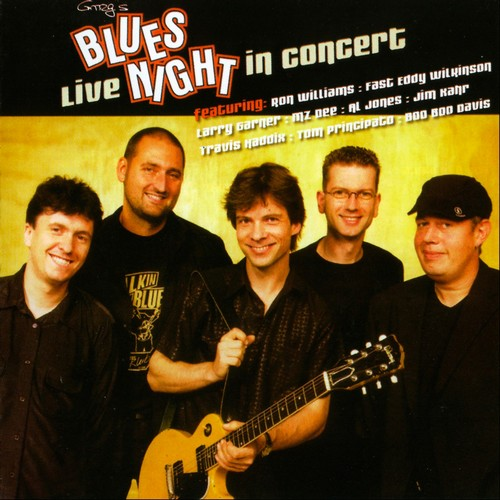 Gregor Hilden Band - Greg's Bluesnight - Live In Concert (2006)