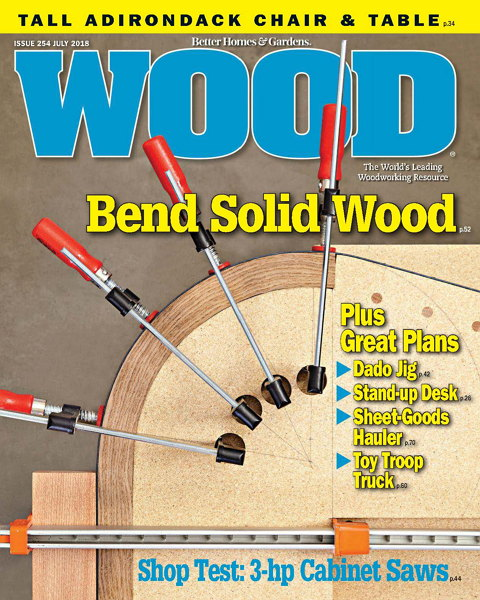 Wood Magazine №254 July 2018