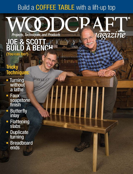 Woodcraft Magazine №78 October-November октябрь-ноябрь 2017 USA