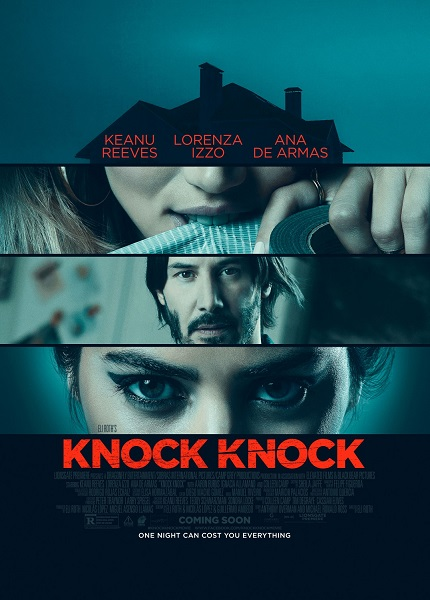 Кто там? / Knock Knock (2015/WEB-DL/720p/WEB-DLRip