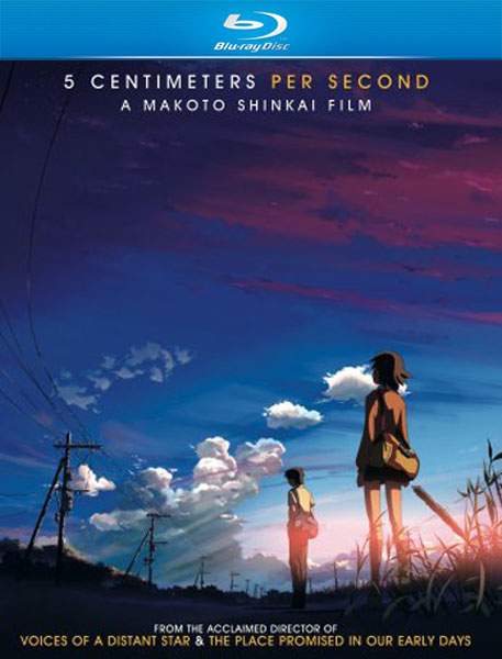 5 сантиметров в секунду / Пять сантиметров в секунду / 5 Centimeters per Second / Byôsoku 5 senchimêtoru (2007/BDRip/HDRip)