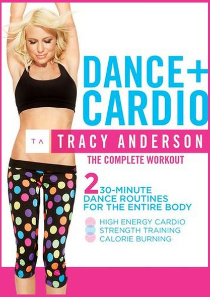 Tracy Anderson. Dance plus Cardio (2013) DVDRip