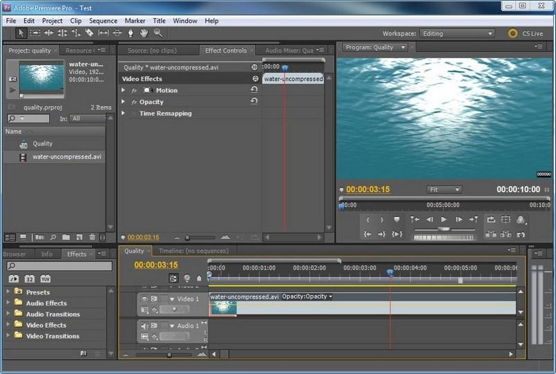 скачать программу Premiere Pro для монтажа - фото 7