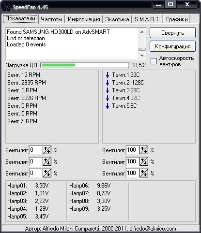 Програмку для регулировки вентиляторов компа