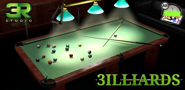 3D Pool game - 3ILLIARDS (2013)