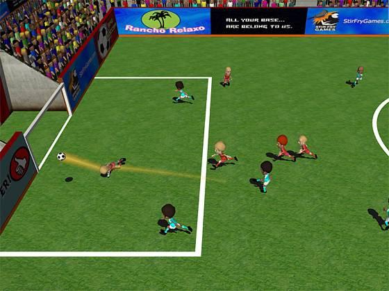 Игру Пляжный Футбол 2009