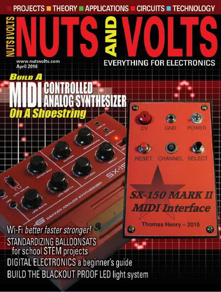 Nuts And Volts №4 (April 2016)
