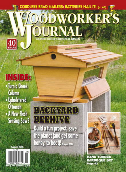 Woodworker's Journal №4 (August 2016)