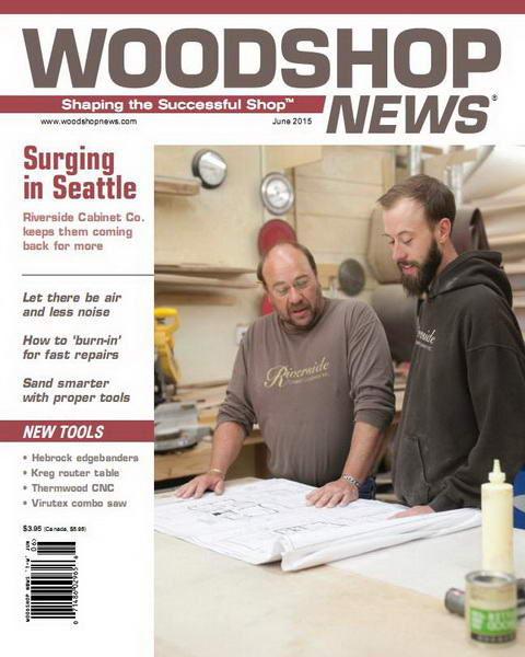 Woodshop News №6 (June 2015)