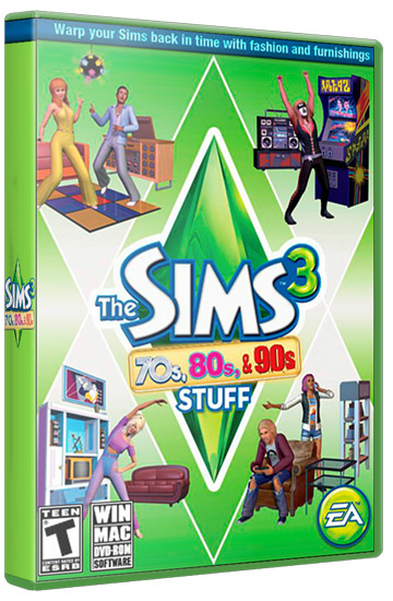 The Sims 3 70s 80s & 90s Stuff