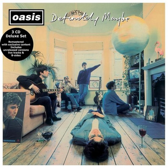 Oasis. Definitely Maybe: 20th Anniversary Special Edition, Remastered 3CD (2014)