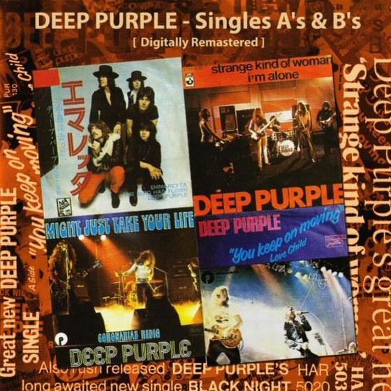 скачать Deep Purple. Singles A's & B's 1993: Remastered Reissue (2012)