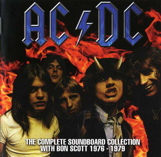 СКАЧАТЬ AC/DC. The Complete Soundboard Collection With Bon Scott 1976 - 1979: Limited Edition (2011)