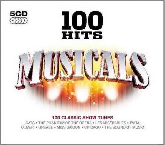 скачать 100 Hits: Musicals [Box Set] (2009)