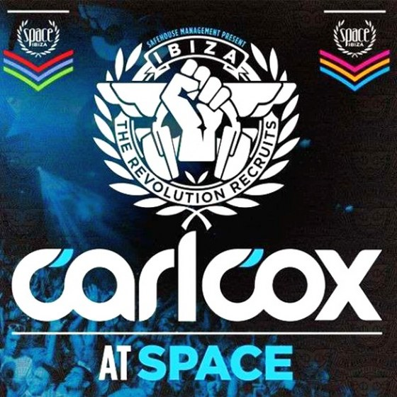 скачать Carl Cox. Carl Cox At Space The Revolution Recruits (2012)