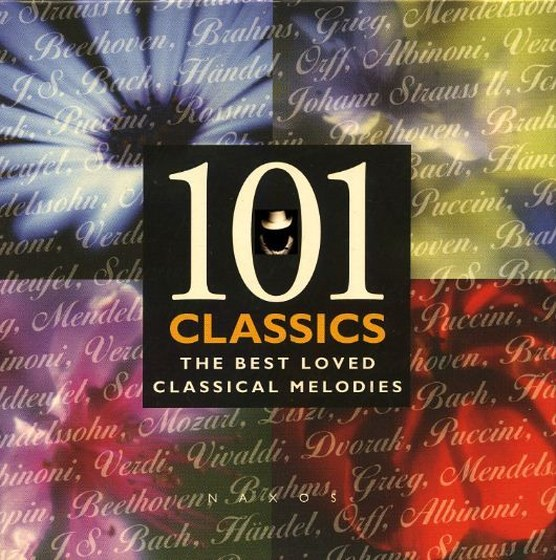 101 Classics: The Best Loved Classical Melodies 8CD (1998)