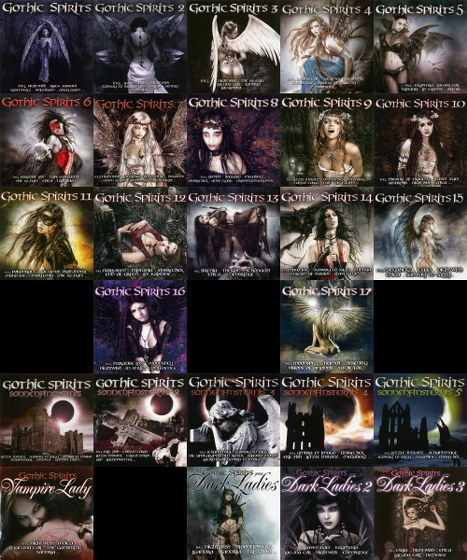 Gothic Spirits 1-17, Sonnenfinsternis 1-5, Vampire Lady, pres. Dark Ladies 1-3 (2005-2013)