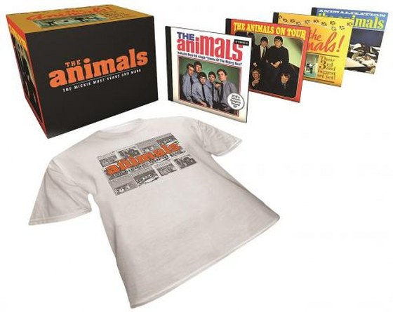 The Animals. The Mickie Most Years And More: 5CD Box Set, ABKCO Records Japan (2013)