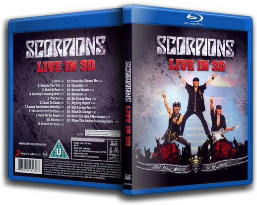 Scorpions. Live: Get Your Sting & Blackout