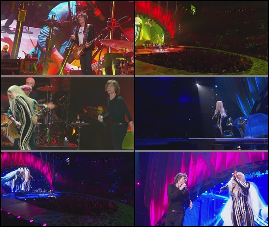 The Rolling Stones feat. Lady Gaga. Gimme Shelter (Live)