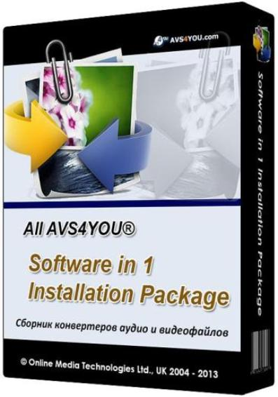 All AVS4YOU Software in 1 Installation Package 3.1.1.131