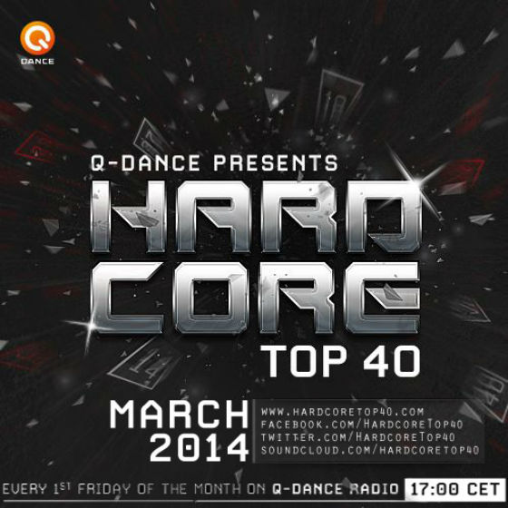Hardcore Top 40 March