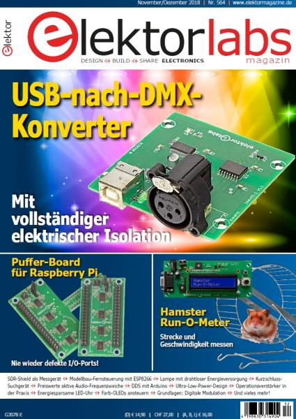Elektor Electronics №11-12 (November-Dezember 2018) Germany