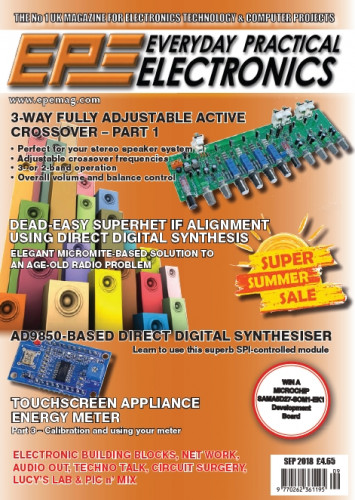 Everyday Practical Electronics №9 (September 2018)