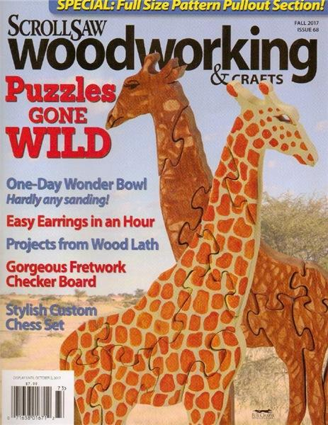 ScrollSaw Woodworking & Crafts №68 (Fall 2017)