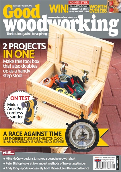 Good Woodworking №321 (August 2017)
