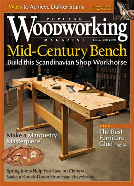 Popular Woodworking №230 (February 2017)