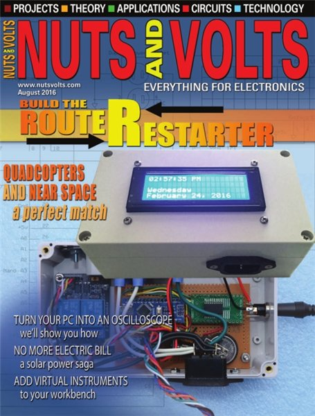 Nuts and Volts №8 (August 2016)