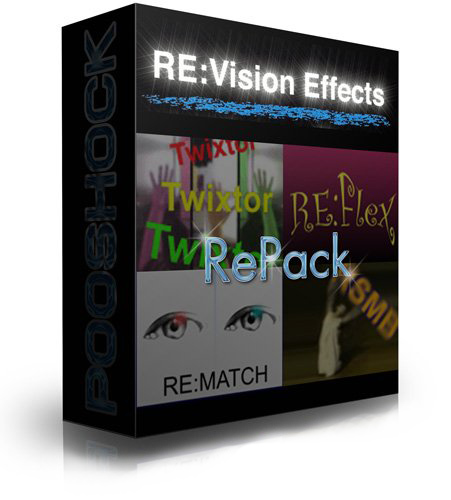 RE:Vision FX Plug-ins Pack for Adobe After Effects CC 2015